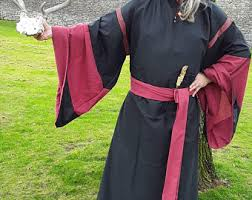 pagan ceremonial robes wiccan robe etsy
