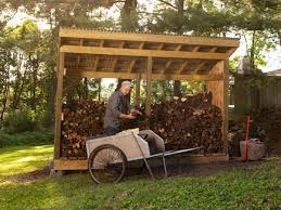 Free Firewood Storage Shed Plans by How To Build A Firewood Shed