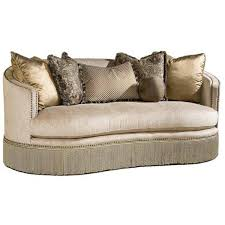 traditional sofas with skirts chagne curved nail head trim sofa with fringe skirt dw欧式古典