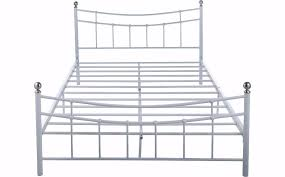 double bed metal frame argos darla double bed frame in