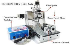 4 axis table top cnc 4 axis z axis travel 90mm mini cnc router drilling milling machine