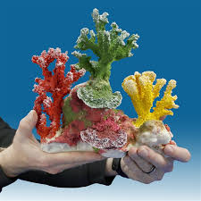 dm 053 coral aquarium ornament for salt water tanks