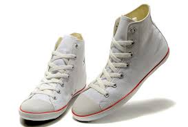 Converse High Heels Converse High Heels Converse White Bla Mid Top Leather Basketball