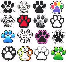 cool paw print tattoo designs love the tribal print and the one