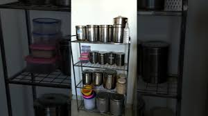 how can i organize my kitchen without cabinets indian kitchen tour 2 non modular kitchen organization idea organise kitchen without cabinets