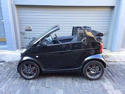 smart car fortwo brabus cabrio 100bhp soft top in granton