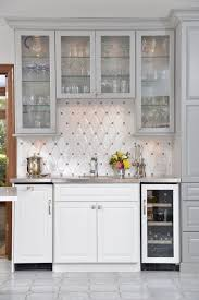Glass Bar Cabinet Bar Cabinet Design Ideas Home Bar Traditional With Glass Front