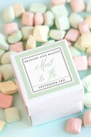 mint to be wedding favors three budget friendly wedding favor ideas weddings ideas from
