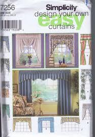 Valances Window Treatments Patterns Window Drapery Valance Curtain Jabot Swags Sewing Patterns 7256