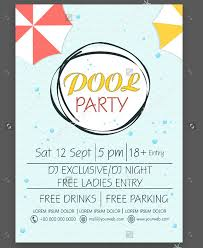 23 pool party flyer templates free psd ai eps format download