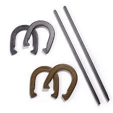 personalized horseshoe set ozark trail horseshoe set walmart
