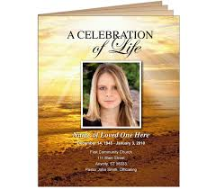 program booklets funeral bulletins or obituary programs size booklets