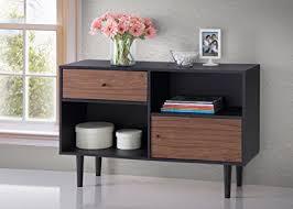 mid century storage cabinet amazon com baxton furniture studios auburn mid century modern