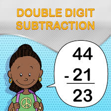free double digit subtraction worksheets for students and teachers