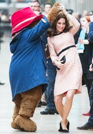 pregnant duchess kate middleton dances paddington bear