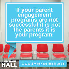 education quote for parents it is not them it is you