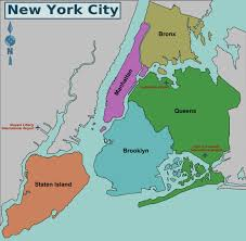 Brooklyn Zip Code Map by New York City Islands Map New York Map