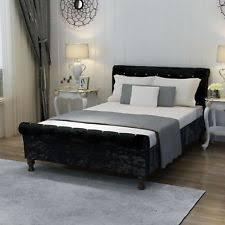 Chesterfield Sleigh Bed Velvet Sleigh Bed Frames Ebay