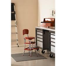 Cosco Bar Stool Cosco Retro Counter Chair Step Stool Free Shipping Today