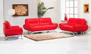 Modern Genuine Leather Sofa Great Red Leather Sofa Set With Geneva Modern Red Leather Sofa Set
