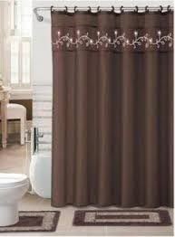 Chocolate Brown Shower Curtain Norman Bates Shower Curtain Shower Curtain Rod