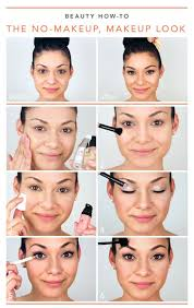 pink full face make up