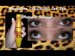 maybelline volume express colossal cat eye mascara review