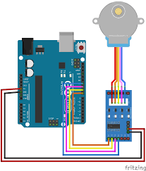 Stepper Motor Driver Wiring Diagram Arduino Stepper Motor Control Tutorial With Code And Circuit Diagram