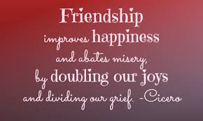 celebrating and valuing friendship