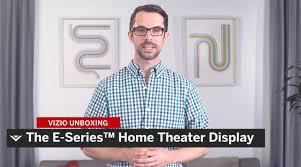 vizio home theater vizio smartcast e series display unboxing youtube