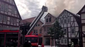 Feuerwehr Bad Hersfeld Brennendes Haus In Bad Hersfeld Feuerwehreinsatz Youtube