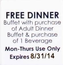 free dinner coupon madrat co