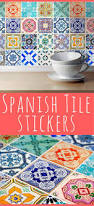 Tile Decals For Kitchen Backsplash by Best 25 Spanish Tile Kitchen Ideas On Pinterest Moroccan Tile