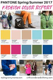 what is the hottest color pantone spring summer 2017 color report the hottest hues of the