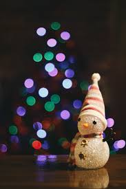 snowman christmas tree free images light color lighting christmas tree christmas