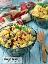 Pasta Salad Recipes With Italian Dressing Asparagus Pasta Salad With Creamy Lemon Dressing Tidymom