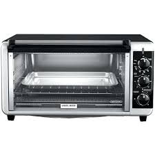 Toaster Ovens Black And Decker Black Multi Function 8 Slice