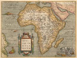 Africa Colonial Map by Untitled Document
