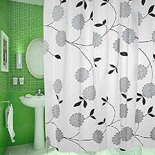Environmentally Friendly Shower Curtain Creative Black And White Sheets Thick High Quality Bathroom Shower