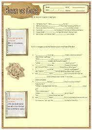 simple vs present perfect worksheet