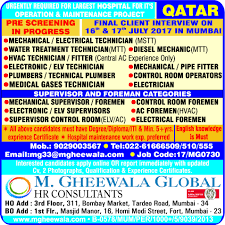 Iti Job Electrician Job Electrician Qatar Engineering Civil And Architecture