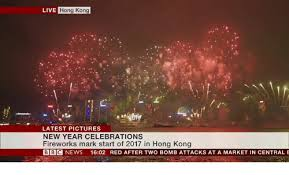 new year s celebrations live live hong kong pictures new year celebrations fireworks