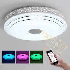 flush mount led can lights bule time intelligence color changing led ceiling light fixture