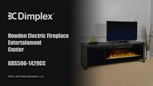 the howden weathered espresso electric fireplace entertainment