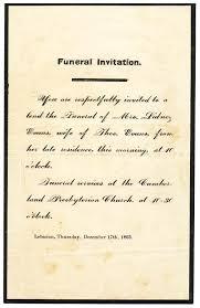 Burial Invitation Card Funeral Invitation Thebridgesummit Co