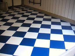 checkerboard floors and collector cars look great together