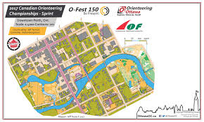 Coc Maps O Fest 150 Coc Sprint August 3rd 2017 Orienteering Map From