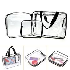 makeup storage staggering clear makeup organizer bag pictures