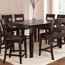 dining room tables with built in leaves intercon kingston counter height gathering table with butterfly