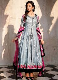 party wear anarkali frock collection 2014 15 indian fashion